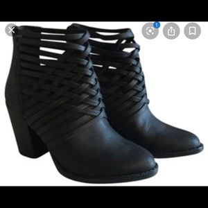 Mossimo strappy ankle boots